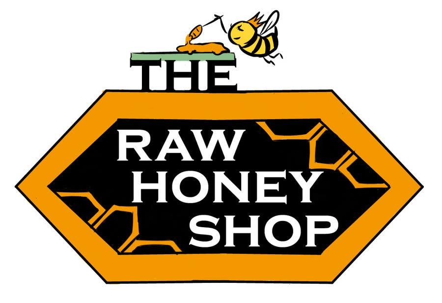 #121 for Logo Design for The Raw Honey Shop by mikaelmartinez