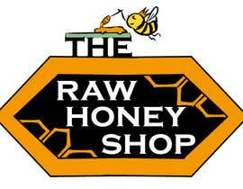 #121 untuk Logo Design for The Raw Honey Shop oleh mikaelmartinez