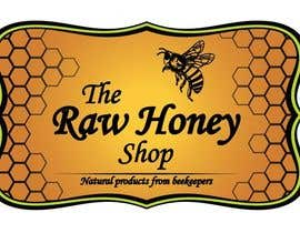 nº 451 pour Logo Design for The Raw Honey Shop par zubalexey