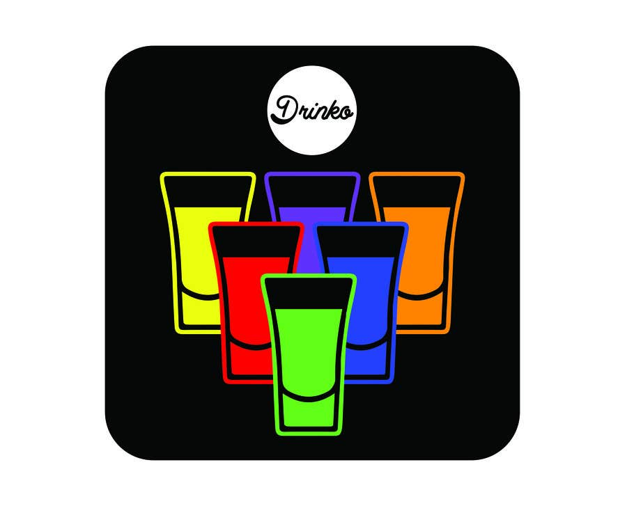 Entry #17 by Exer1976 for Logo for a drinking game app