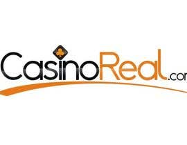 #122 para Logo Design for Casinoreal.com por hungdesign