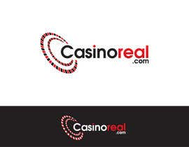 #155 para Logo Design for Casinoreal.com por trangbtn
