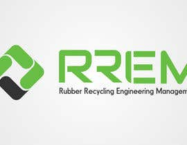 #143 para Logo Design for RREM  (Rubber Recycling Engineering Management) por iwansusan