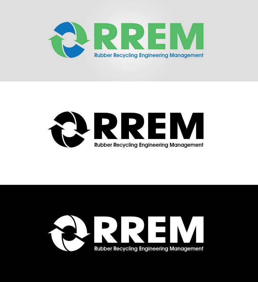 Contest Entry #432 for Logo Design for RREM  (Rubber Recycling Engineering Management)
