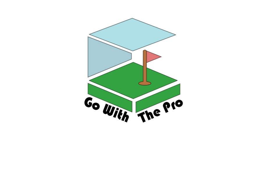 Kilpailutyö #110 kilpailussa Logo Design for Go With The Pro
