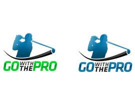 #166 for Logo Design for Go With The Pro by CTRaul