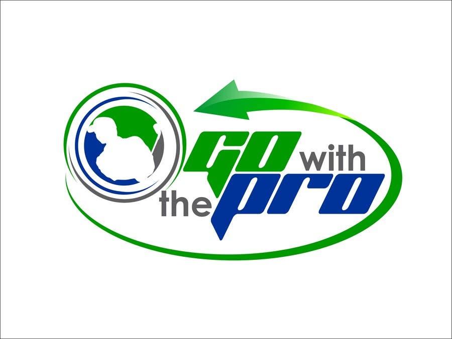 Penyertaan Peraduan #177 untuk Logo Design for Go With The Pro