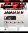 Graphic Design Entri Peraduan #25 for Design a Website Mockup for an auto seat cover manufacturer