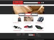 Graphic Design Entri Peraduan #18 for Design a Website Mockup for an auto seat cover manufacturer