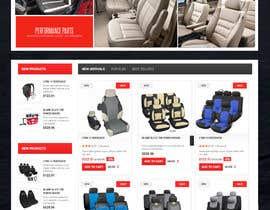 #20 untuk Design a Website Mockup for an auto seat cover manufacturer oleh lassoarts