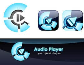 #6 para iPhone/iPad app icon design for music player por PicaSSo789
