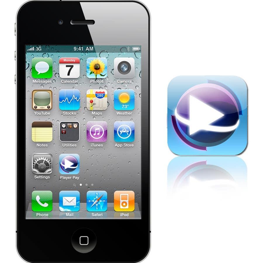 Kilpailutyö #                                        15                                      kilpailussa                                         iPhone/iPad app icon design for music player
