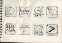 Graphic Design Kilpailutyö #60 kilpailuun iPhone/iPad app icon design for music player