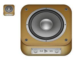 santiagodurieux tarafından iPhone/iPad app icon design for music player için no 56