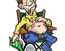 #11 para full of food cartoon por michaelbarter