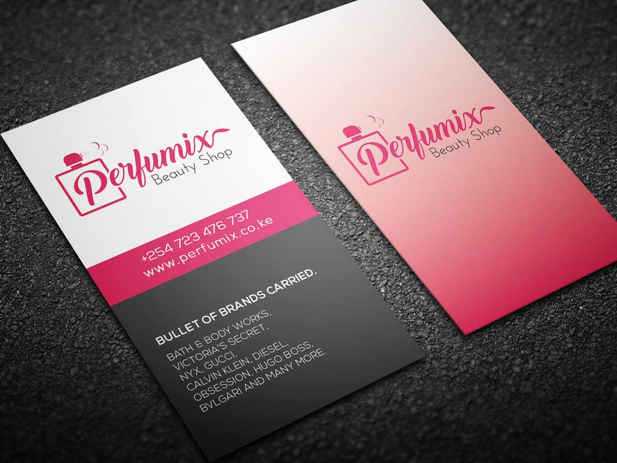 Entry #189 by mhtushar322 for business card for beauty shop | Freelancer