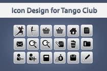 Icon or Button Design for Tango Club için Graphic Design55 No.lu Yarışma Girdisi