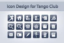 Icon or Button Design for Tango Club için Graphic Design52 No.lu Yarışma Girdisi