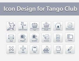 topcoder10 tarafından Icon or Button Design for Tango Club için no 59