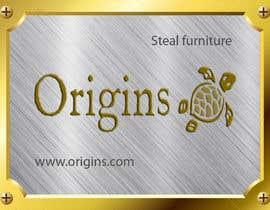 #12 for Furniture Metal Label Design af lemza
