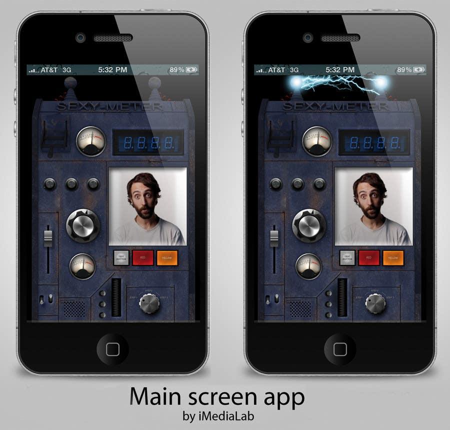 Kilpailutyö #                                        10                                      kilpailussa                                         Create a Main screen for an app that a crazy inventor would create!