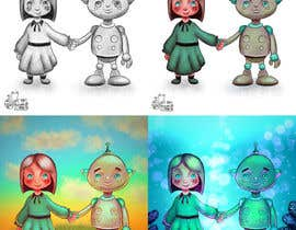 #7 for Illustrator for my book by basselelkadi