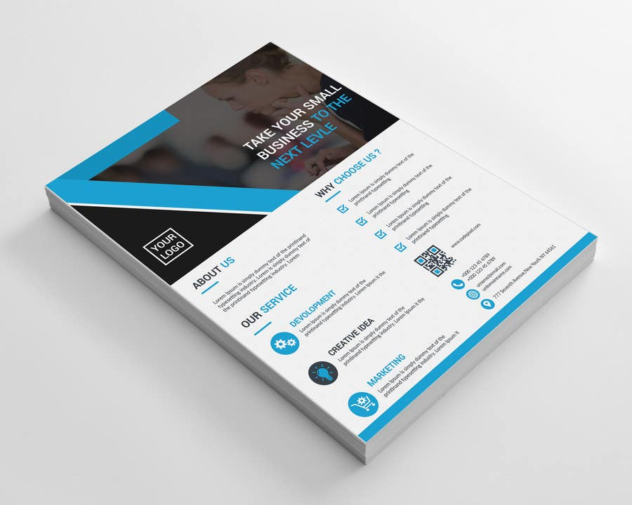 entry 29 by khairul1111 for design a 1 pager pricing flyer