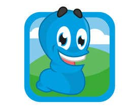 #42 untuk Icon for Worm game on iPhone and iPad oleh abatastudio
