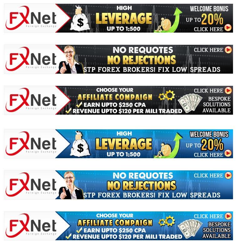 Proposition n°69 du concours Banner Ad Design for FXNET