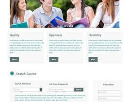 "#25 untuk Design a Website Mockup for ""Queensford College"" oleh negibheji"