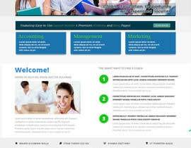 """#33 untuk Design a Website Mockup for """"Queensford College"""" oleh lassoarts"""