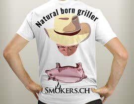 #87 cho Create a BBQ-shirt for our fans and customers bởi EmadMoradian
