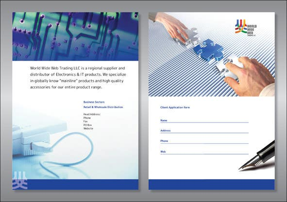 Contest Entry #                                        12                                      for                                         Brochure Design for World Wide Web Trading LLC