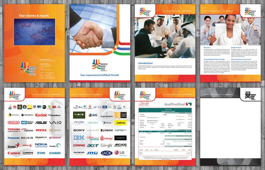 Contest Entry #                                        18                                      for                                         Brochure Design for World Wide Web Trading LLC