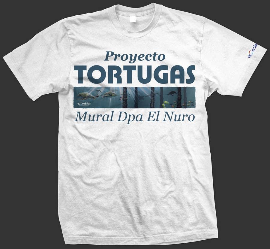 Конкурсная заявка №60 для T-shirt Design for a marine conservation organization