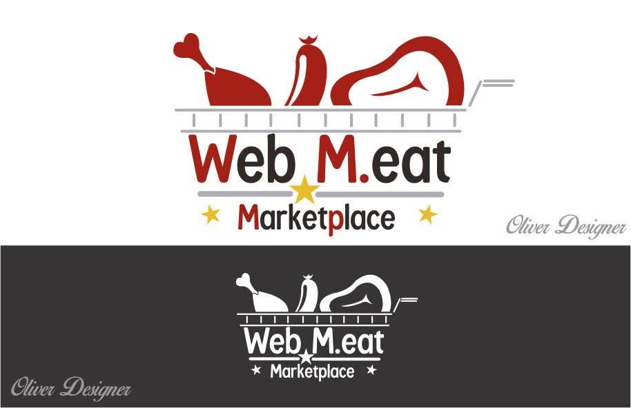 Inscrição nº                                         25                                      do Concurso para                                         LogotipoLogotipo para Marketplace de Carnes - Web Meat