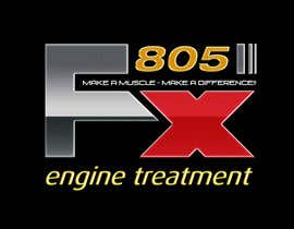 #121 para Logo Design for FX805 por twocats
