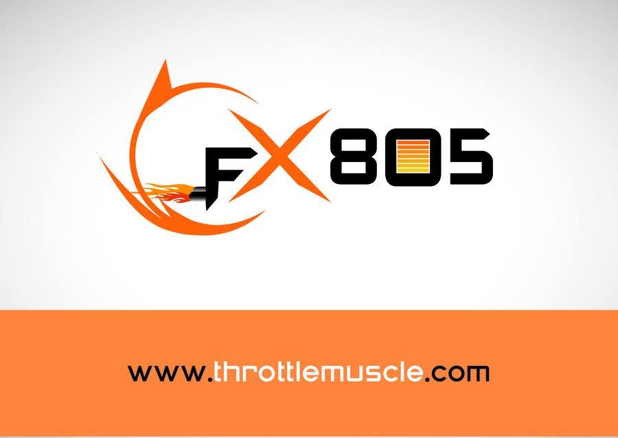 Inscrição nº                                         102                                      do Concurso para                                         Logo Design for FX805