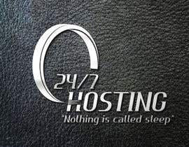 #28 para Logo Design for 24/7 Hosting por rochrockz