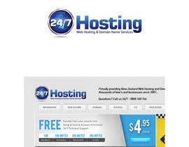 #29 para Logo Design for 24/7 Hosting por jakuart