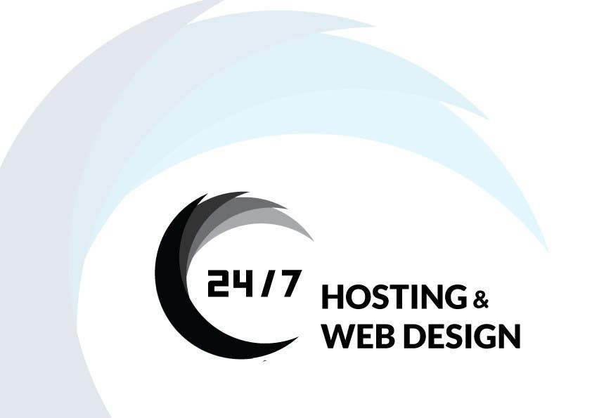 Bài tham dự cuộc thi #                                        5                                      cho                                         Logo Design for 24/7 Hosting
