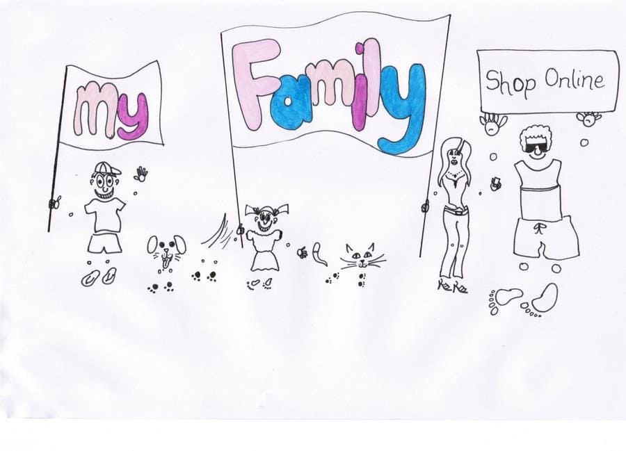 Inscrição nº                                         25                                      do Concurso para                                         Logo & Sticker design x 50  for Family Sticker Concept for new market