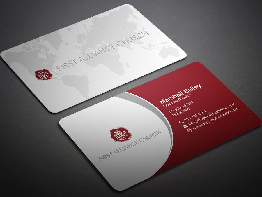 Entry #76 by BikashBapon for church business cards | Freelancer