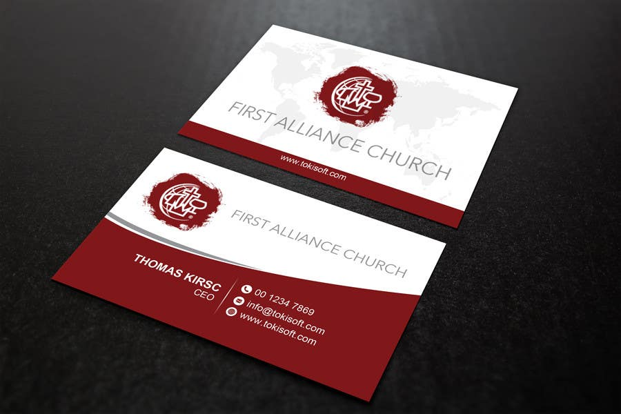 Entry 90 By Najmulraj For Church Business Cards Freelancer