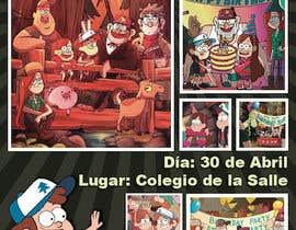 Tarjeta De Invitación Y Pendón Cumpleaños David Samuel Niño