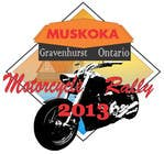 #61 for Logo Design for Muskoka Motorcycle Rally by batholomio