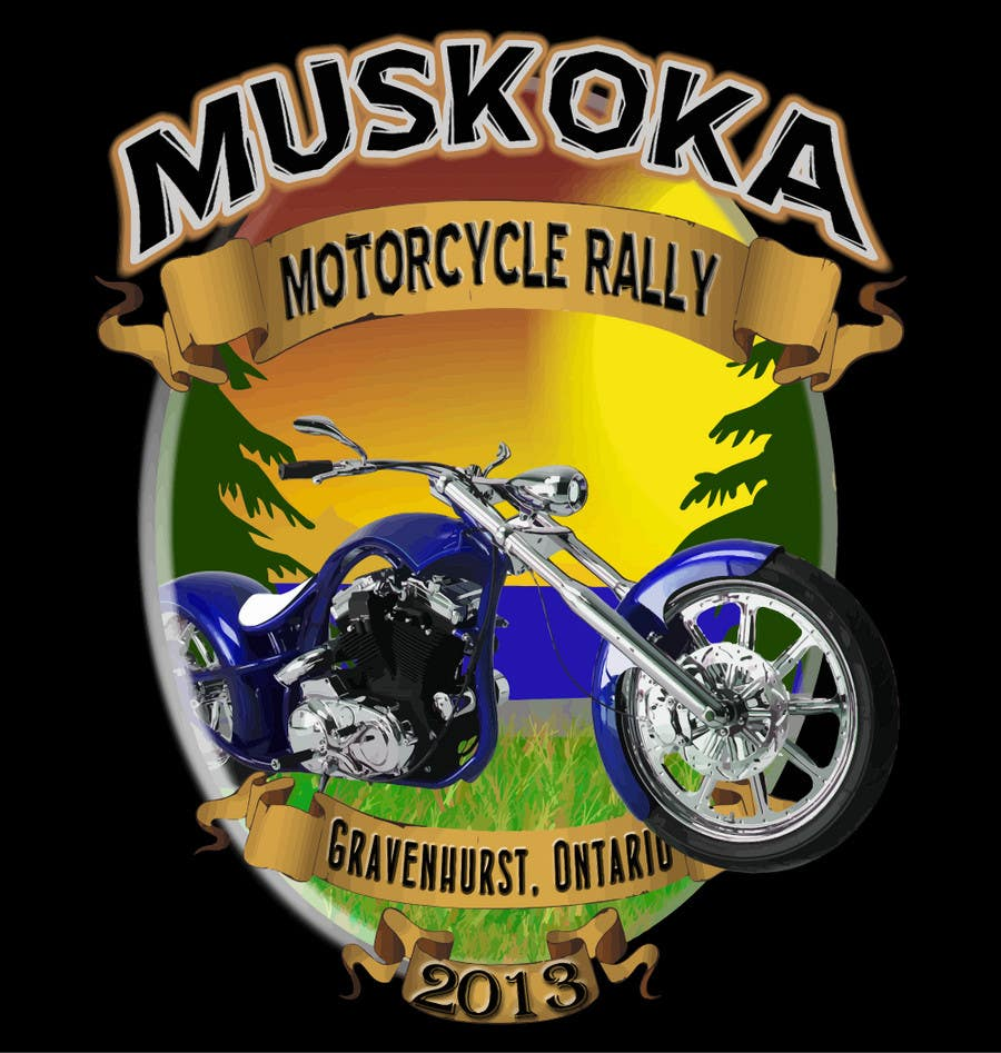 #20 for Logo Design for Muskoka Motorcycle Rally by PCRepairamedics