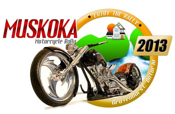#66 for Logo Design for Muskoka Motorcycle Rally by websansar1