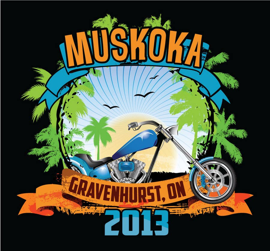 #12 for Logo Design for Muskoka Motorcycle Rally by OliveDesigns