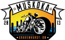 Contest Entry #39 for Logo Design for Muskoka Motorcycle Rally